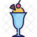Ice Cream Sweet Frozen Icon