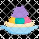 Ice Cream Sweet Frozen Icon