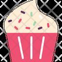 Ice Cream Cupcake Muffin Icon