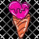 Ice Cream Sundae Ice Cone Icon
