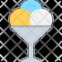 Gelato Ice Cream Summer Dessert Icon