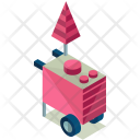 Dessert Food Cart Icon