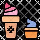 Ice Cream Gelato Sundae Icon