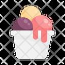 Ice Cream Sweet Dessert Icon