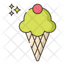 Ice Cream Ice Cream Cone Sweet Icon