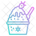 Shaved Ice Food Icon