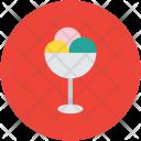 Ice Cream Balls Icon
