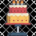 Ice Cream Cake Pastry Icon