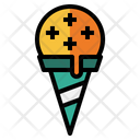 Ice Cream Food And Restaurant Scoops Icon