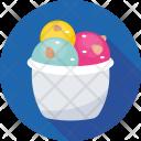 Ice Cream Dessert Icon