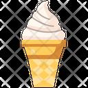 Ice Cream Summer Dessert Icon