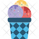Ice Cream Dessert Frozen Dessert Icon