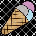 Ice Cone Sundae Ice Cream Icon