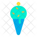 Cone Dessert Icecream Icon