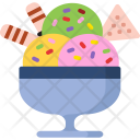 Ice-cream Bowl Icon