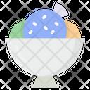 Ice Cream Bowl Icon