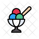 Ice Cream Bowl Icon