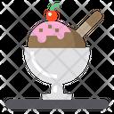 Ice Cream Restaurant Kitchen Icon