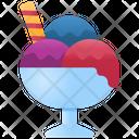 Ice Cream Food Dessert Icon