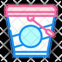 Ice Cream Bucket Icon