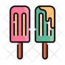 Ice Cream Candy Candy Juicy Bar Icon