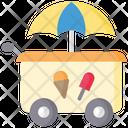 Ice Cream Cart Ice Cream Stall Ice Cream Shop Icon