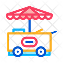 Ice Cream Cart Icon