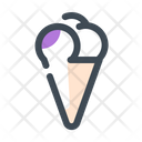 Ice Cream Ice Cream Cone Dessert Icon