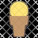 Icream Cone Ice Cream Sweet Icon