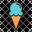 Ice Cream Cone Cone Cold Cone Icon