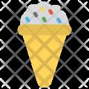 Cone Frozen Food Icon