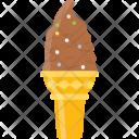 Ice Cream Cone Chocolate Icon