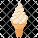 Cream Cone Sundae Icon