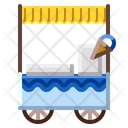 Ice Cream Cart Cream Icon