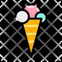 Ice Cream Dessert Sweet Icon