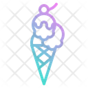 Icecream Gelato Dessert Icon