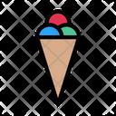 Cone Icecream Sweets Icon