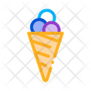Balls Ice Cream Icon