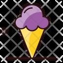 Ice Cone Gelato Ice Cream Icon