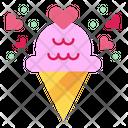 Icecream Cone Frozen Icon