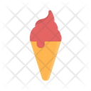 Ice Cream Cone Cream Sweet Icon
