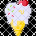 Ice Cream Cone Ice Cream Sweet Icon