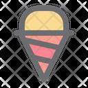 Ice Cream Corn Icon