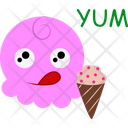 Ice Cream Corn Icon