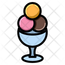 Dessert Gelato Ice Cream Icon