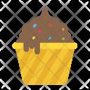 Ice Cream Dessert Frozen Icon
