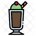 Cream Dessert Float Icon
