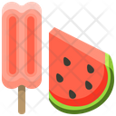 Ice Cream Fruit Ice Cream Stick Watermelon Ice Cream Icon