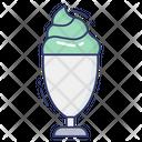 Ice Cream Glass Icon