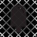 Icecream Waffle Lolly Icon